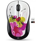 Logitech Wireless Mouse M325 White INK Trail