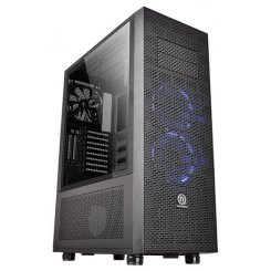 Thermaltake Core X71 Tempered Glass Edition  без БП (CA-1F8-00M1WN-02) Black