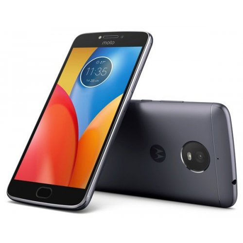 Мобильный телефон Motorola XT1771 Moto E Plus Iron Gray