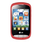 LG T310i Cookie Wine Red