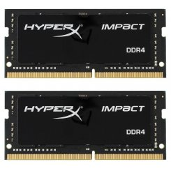 Kingston SODIMM DDR4 16GB (2x8GB) 2400Mhz HyperX Impact (HX424S14IB2K2/16)