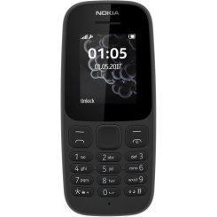 Nokia 105 New Dual Sim Black