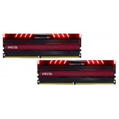 Team DDR4 32GB (2x16GB) 2400Mhz Delta Red LED (TDTRD432G2400HC15BDC01)