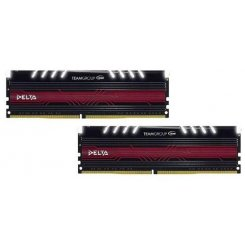 Team DDR4 32GB (2x16GB) 2400Mhz Delta White LED (TDTWD432G2400HC15BDC01)