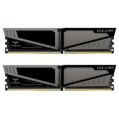Team DDR4 32GB (2x16GB) 3000Mhz T-Force Vulcan Gray (TLGD432G3000HC16CDC01)