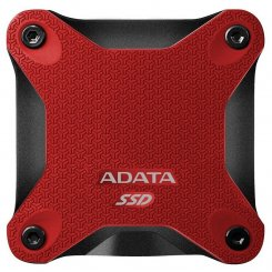 ADATA SD600 Red 256GB USB 3.1 (ASD600-256GU31-CRD)