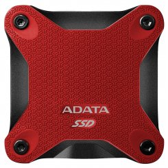 ADATA SD600 Red 512GB USB 3.1 (ASD600-512GU31-CRD)