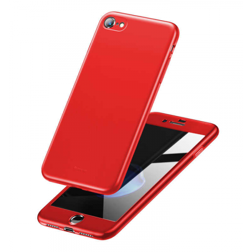 Фото Чехол Baseus для Apple Iphone 7/8 Plus Fully Protection (WIAPIPH8P-BA09) Red