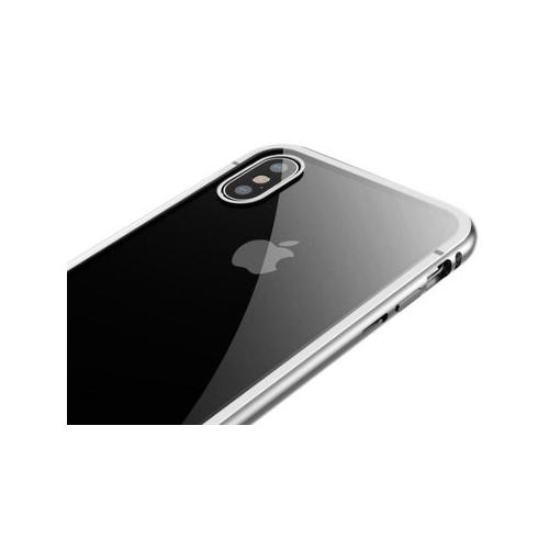 Фото Чехол Baseus для Apple Iphone X/Xs Magnetite Hardware Case (WIAPIPHX-CS0S) Silver