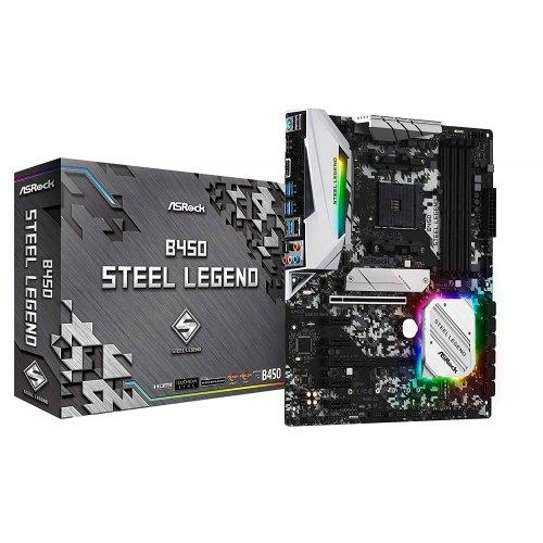 Фото Материнская плата AsRock B450 Steel Legend (sAM4, AMD B450)