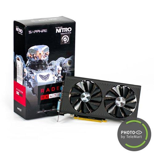 Фото Видеокарта Sapphire Radeon RX 470 NITRO OC 4096MB (11256-10-20G SR) Seller Recertified