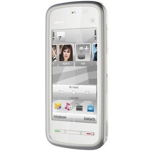 Фото Мобильный телефон Nokia 5228 White Blue