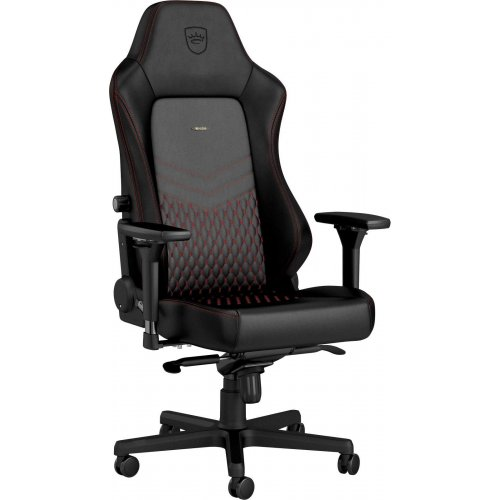 Фото Игровое кресло Noblechairs HERO Real Leather (GAGC-120) Black/Red
