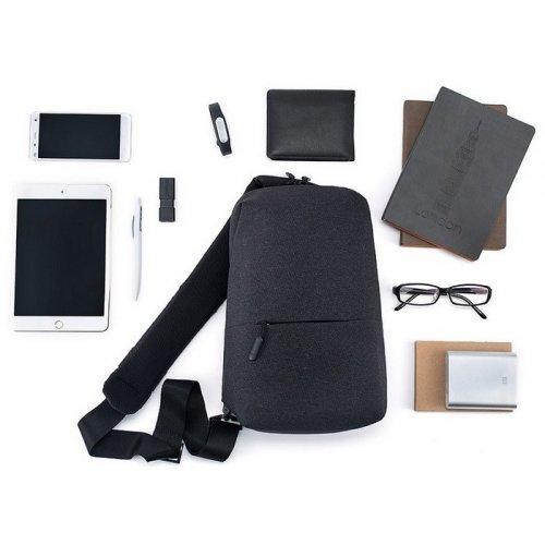 Фото Рюкзак Xiaomi Mi City Sling Bag 4L Dark Grey