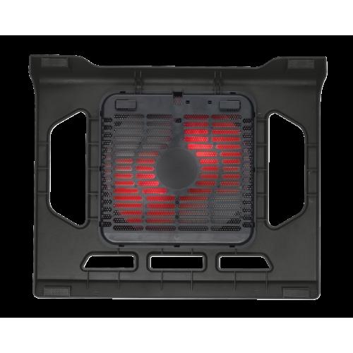 Фото Подставка для ноутбука TRUST GXT 220 Kuzo Notebook Cooling Stand (20159) Black