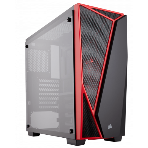 Фото Корпус Corsair Carbide SPEC-04 Tempered Glass без БП (CC-9011117-WW) Black/Red