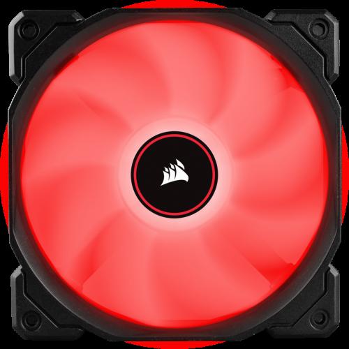 Фото Кулер для корпуса Corsair Air AF120 LED (2018) Red (CO-9050080-WW)