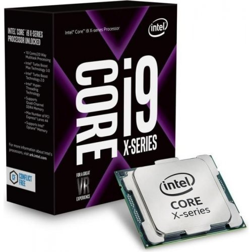 Фото Процессор Intel Core i9-9960X 3.1(4.4)GHz 22MB s2066 Box (BX80673I99960X)