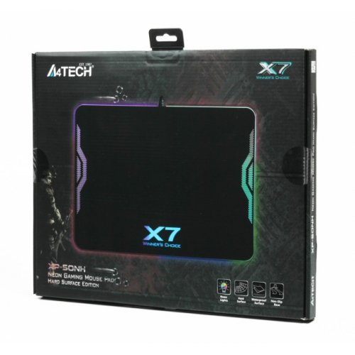 Фото Коврик для мышки A4Tech XP-50NH RGB Black