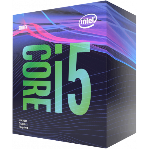 Фото Intel Core i5-9400F 2.9(4.1)GHz 9MB s1151 Box (BX80684I59400F)