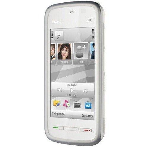 Фото Мобильный телефон Nokia 5228 White Silver
