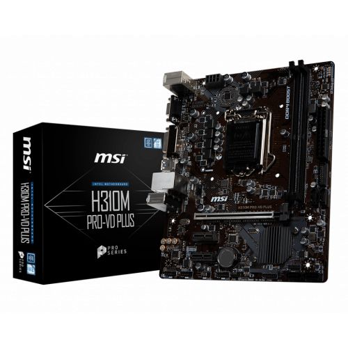 Фото MSI H310M PRO-VD PLUS (s1151-V2, Intel H310)