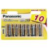 Фото Батарейки Panasonic AA (LR06) Alkaline Power 10 шт. (LR6REB/10BW)