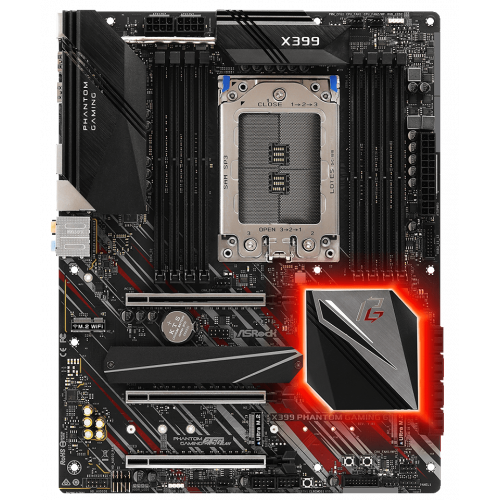 Фото Материнская плата AsRock X399 Phantom Gaming 6 (sTR4, AMD X399)
