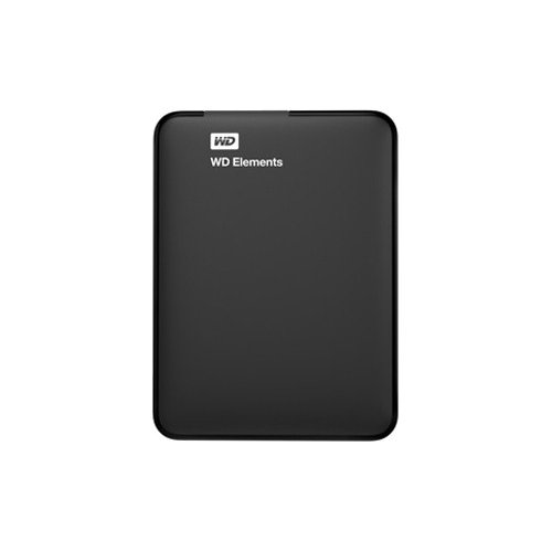 Фото Внешний HDD Western Digital Elements 1TB WDBUZG0010BBK-EESN Black