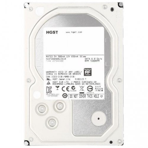 Фото Жесткий диск Hitachi Ultrastar 7K6000 4TB 128MB 7200RPM 3.5