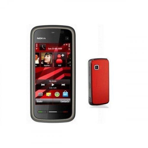 Фото Мобильный телефон Nokia 5230 Navi Black Red