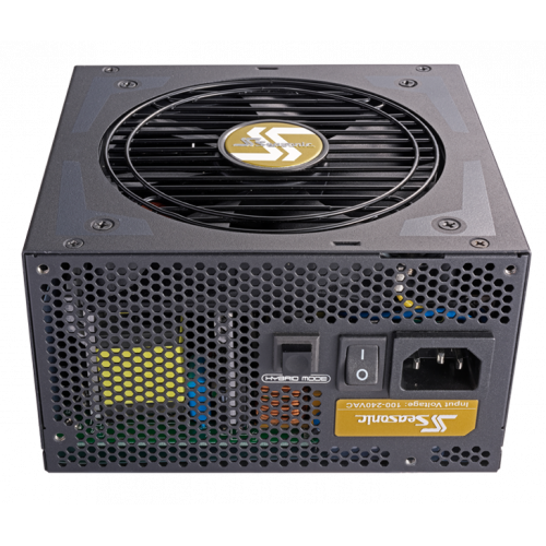 Фото Seasonic FOCUS Plus 650W Gold (SSR-650FX)