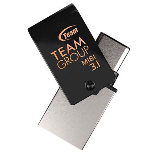 Фото Накопитель Team M181 Type-C USB 3.0 OTG 16GB (TM181316GB01) Black
