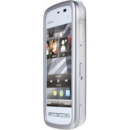 Фото Мобильный телефон Nokia 5230 Navi White Blue