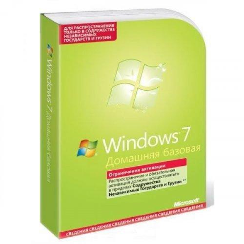 Фото Операционная система Уценка Microsoft Windows 7 Home Basic 32-bit Russian DVD Box (F2C-00545) (Вскрыта упаковка)