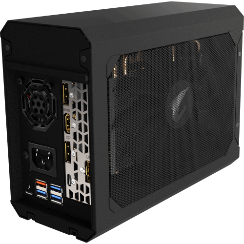 Фото Гейм бокс Gigabyte GeForce RTX 2070 AORUS GAMING BOX 8192MB (GV-N2070IXEB-8GC) Thunderbolt 3