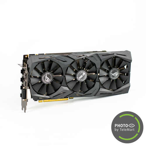 Фото Видеокарта Asus ROG GeForce GTX 1070 STRIX OC 8192MB (STRIX-GTX1070-O8G-GAMING SR) Seller Recertified