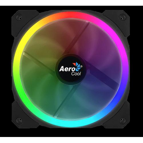 Фото Кулер для корпуса Aerocool Orbit 120mm RGB