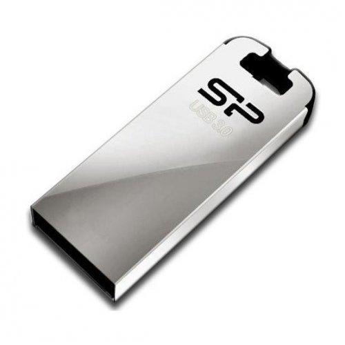 Фото Накопитель Silicon Power Jewel J10 USB 3.0 16GB Silver (SP016GBUF3J10V1K)