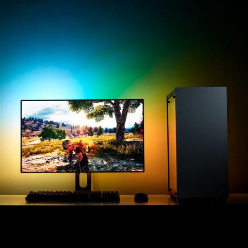 Фото Подсветка NZXT HUE 2 Ambient RGB Lighting Kit 21-26