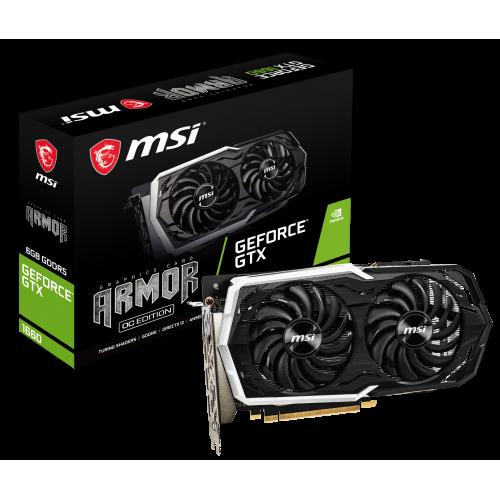 Фото Видеокарта MSI GeForce GTX 1660 ARMOR OC 6144MB (GTX 1660 ARMOR 6G OC)
