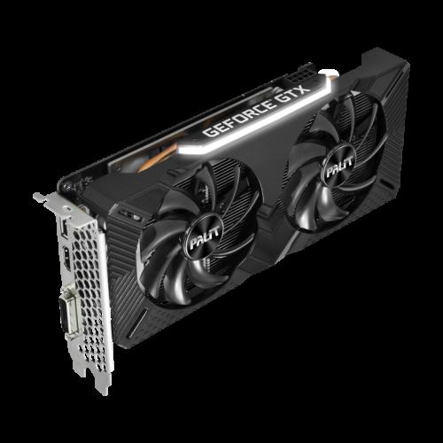 Фото Видеокарта Palit GeForce GTX 1660 Dual OC 6144MB (NE51660S18J9-1161A)