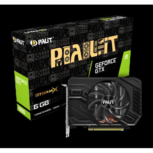 Фото Palit GeForce GTX 1660 StormX 6144MB (NE51660018J9-165F)