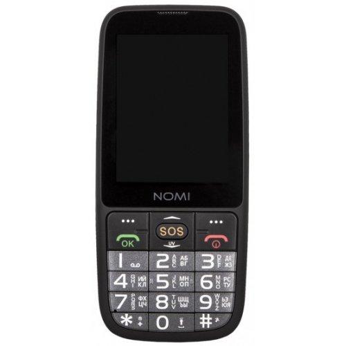 Купить Мобильные телефоны, Nomi i281 Plus Black