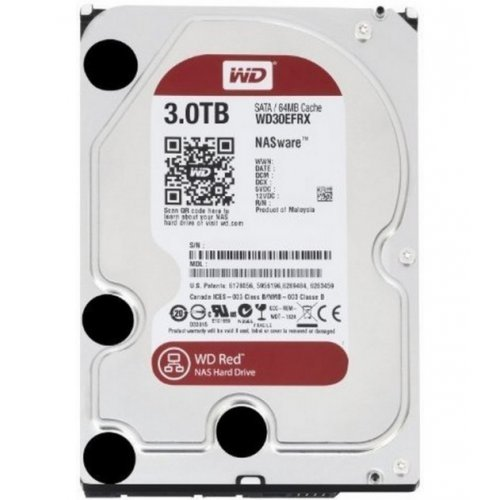 Фото Жесткий диск Western Digital Red 3TB 64MB 3.5