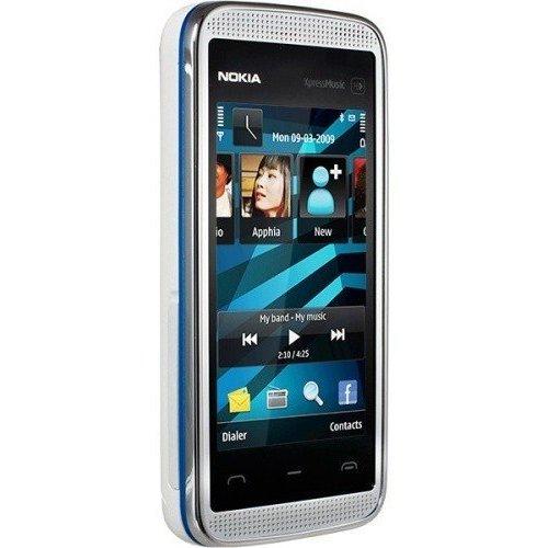 Фото Мобильный телефон Nokia 5530 XpressMusic White Blue