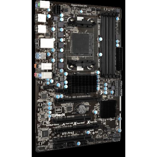 Фото Материнская плата AsRock 970 PRO3 R2.0 (sAM3+, AMD 970)