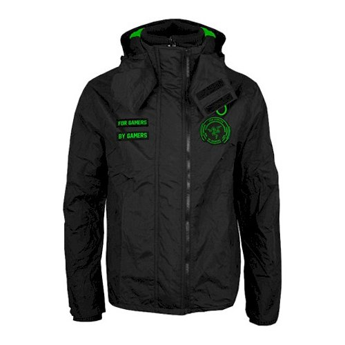 Фото Ветровка Razer WINDRUNNER Hoodie Men S (RGF5M03S2X-01-04SM) Black/Green