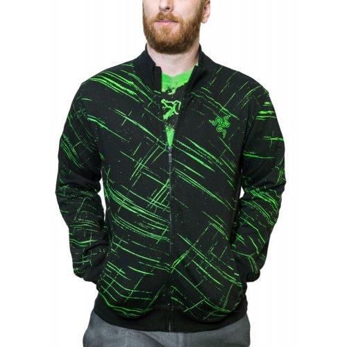 Фото Олимпийка Razer TEMPEST TRACK Jacket Men XL (RGS6M09S3F-08-04XL) Black/Green