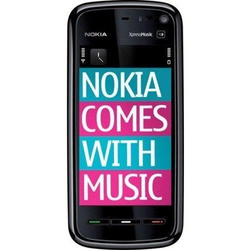 Фото Мобильный телефон Nokia 5800 Navi Black